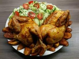 Besoffenes Huhn