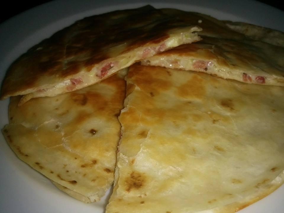 Rezept Tortilla – Flammkuchen