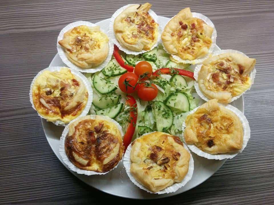 Rezept Mini Quiche Lorraine