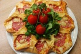 Zum Rezept Pizza -Stern