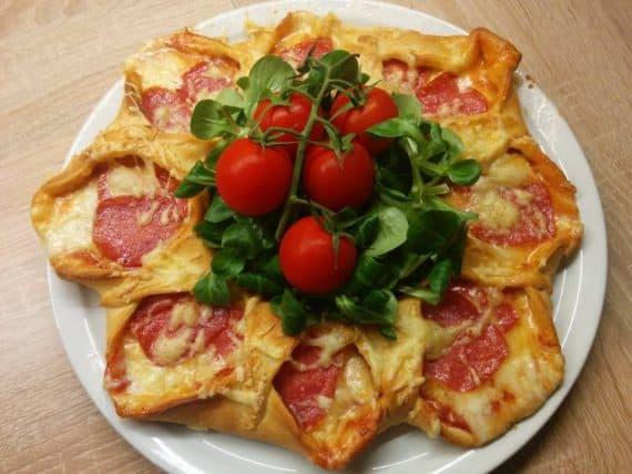 Rezept Pizza -Stern