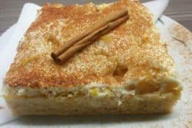 Blogbeitrag Zimtkuchen mit Pfirsich
