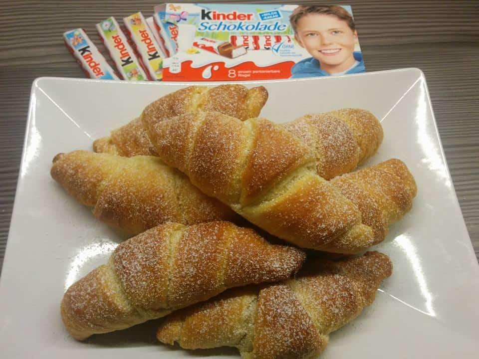 Rezept Kinder Croissant