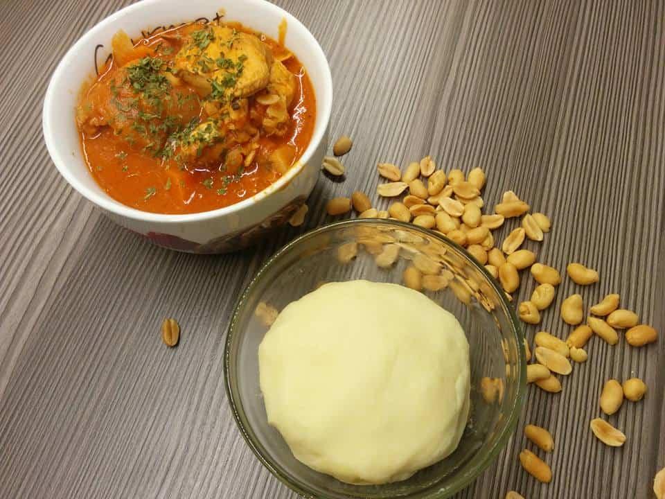 Rezept Ghanaisches Erdnusshuhn
