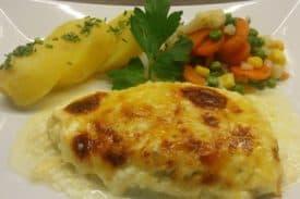 Zum Rezept Käse - Sahne - Schnitzel