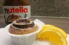 Blogbeitrag Nutella Cruffin