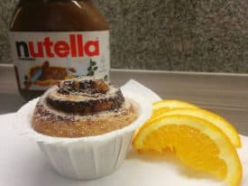 Nutella Cruffin
