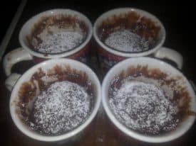 Nutella-Mikrowellen-Löffelkuchen