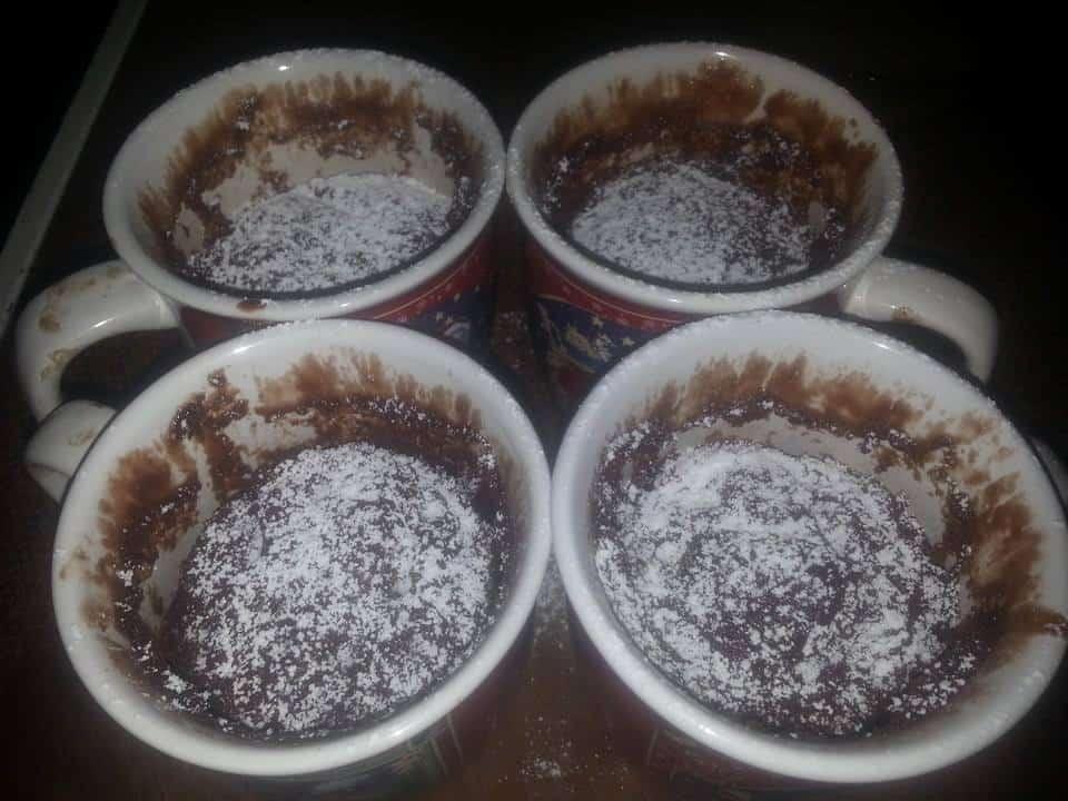 Rezept Nutella-Mikrowellen-Löffelkuchen