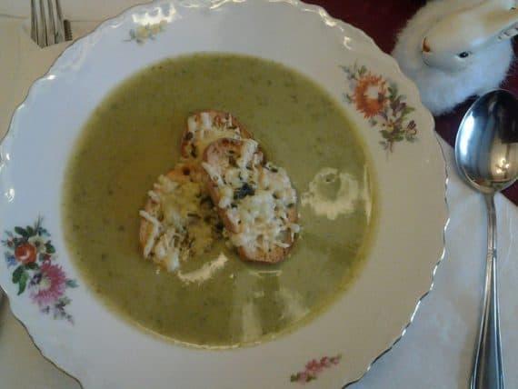 Rezept Bärlauchcreme Suppe