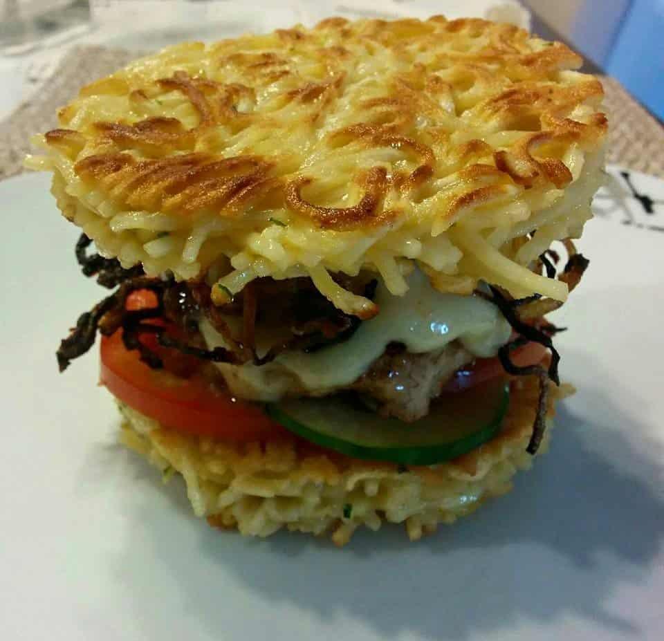 Rezept Mie – Ramen – Burger