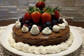 Zum Rezept Nutella Palatschinken Torte