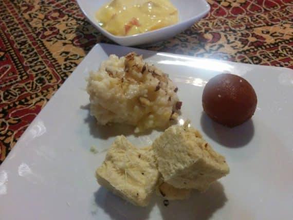 Taj Mahal Linz Dessert