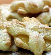 Rezept Ananas – Blätterteig – Sterne
