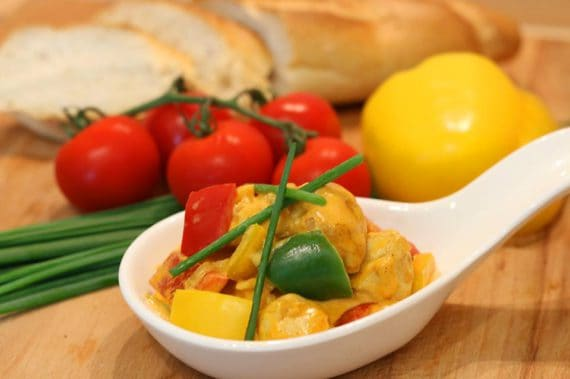 Rezept Feurige Paprika - Huhn - Pfanne
