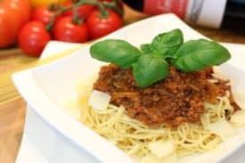 Zum Rezept Spaghetti Bolognese