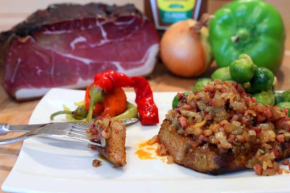 Rezept LoneStar Bacon Pork