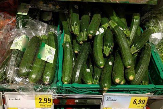 Bio - Sinn oder Unsinn Zucchini