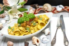Blogbeitrag Chicken Curry Pasta