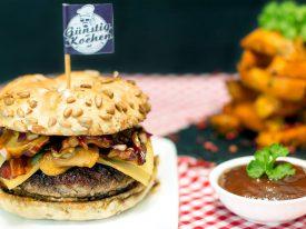 Zum Rezept von Da Smokey Steyrer Burger
