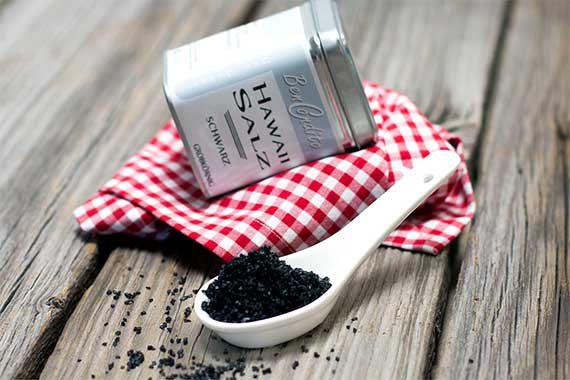 BenCondito Hawaii Salz schwarz