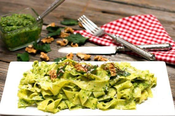 Rezept Petersilie Walnuss Pesto
