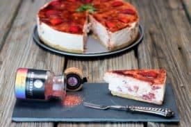Blogbeitrag Einhorn- Torte ohne Backen