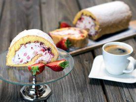 Rezept Erdbeer Sahne Roulade