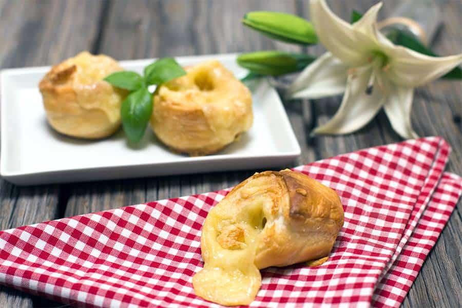 Rezept Käse – Schnecken