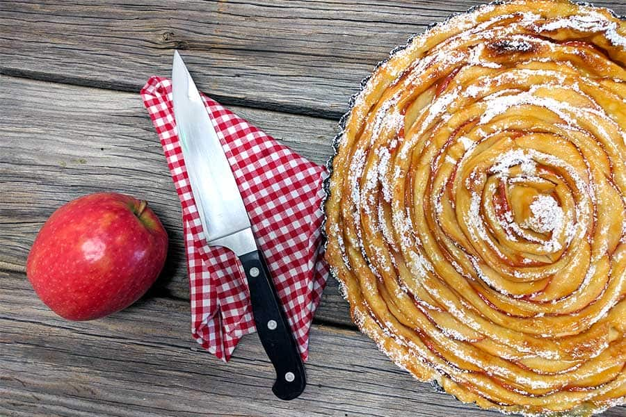 Rezept Apfel Blätterteig Tarte