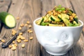 Blogbeitrag Thai Gurkensalat