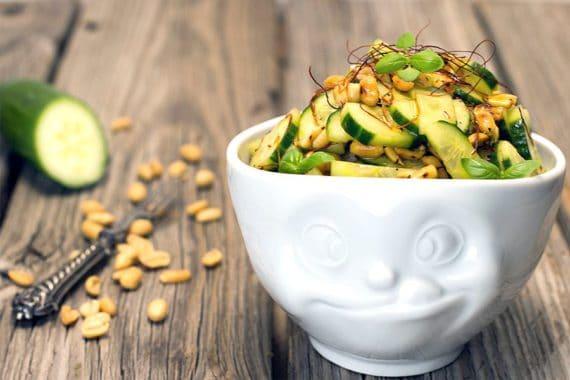 Rezept Thai Gurkensalat