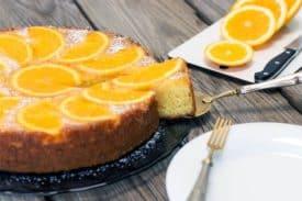 Zum Rezept Orange kopfüber