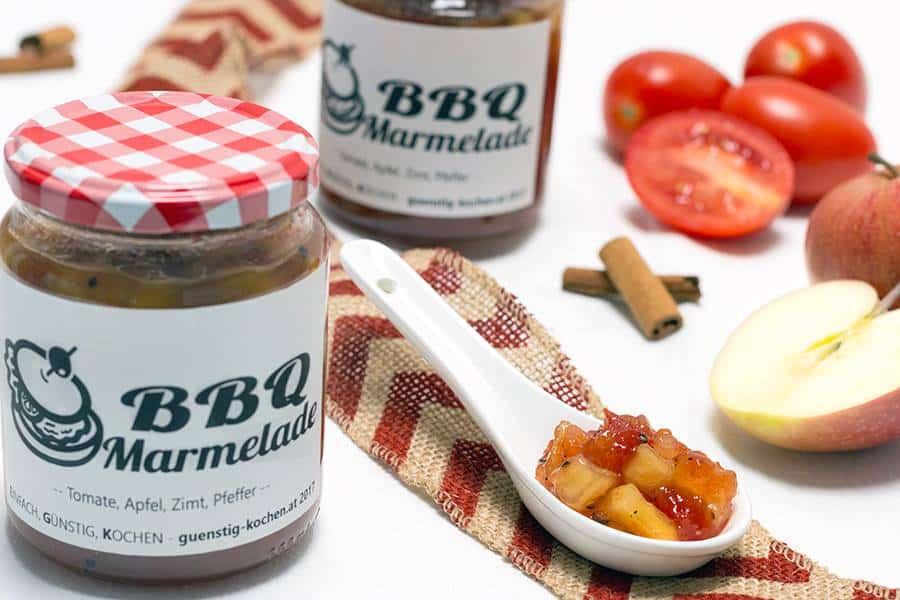 Rezept BBQ Marmelade