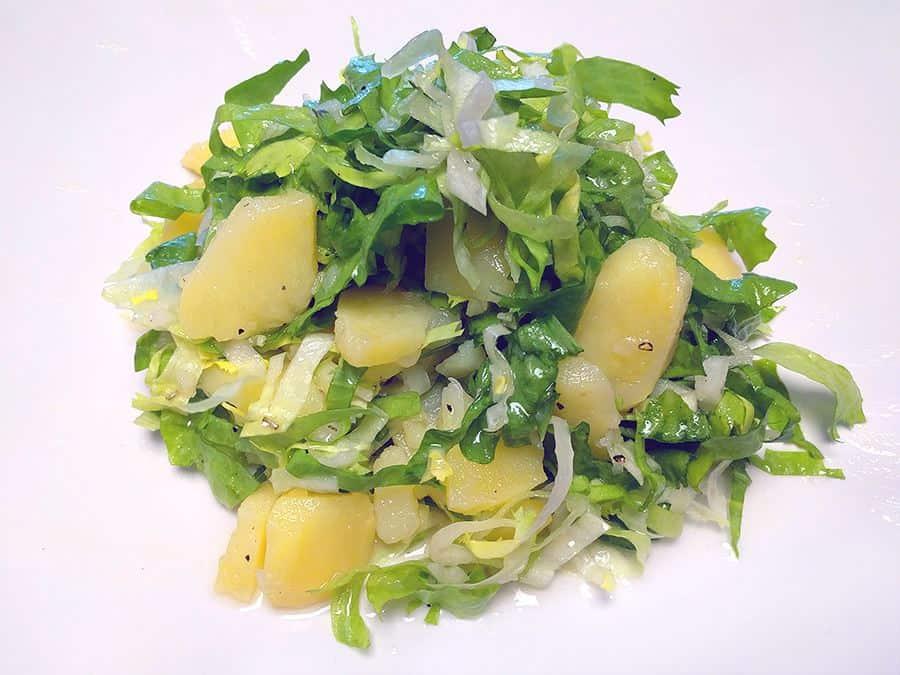 Rezept Endiviensalat mit Kartoffeln
