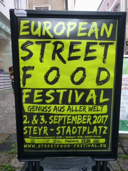 European Street Food Festival in Steyr
