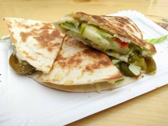 Quesadilla mit Gemüse