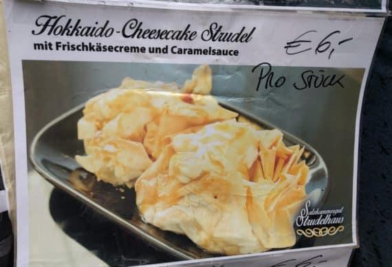 Hokkaido Cheesecake Strudel