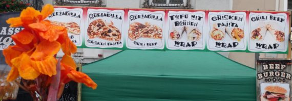 Mexikanischer Street Food Stand