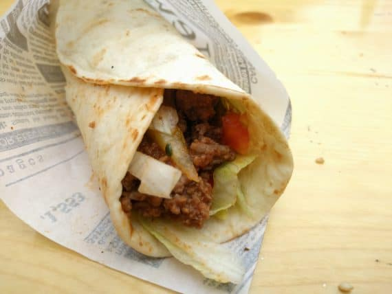 Chili Beef Wrap