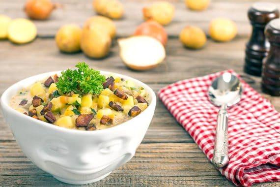 Rezept Kartoffelsuppe Deluxe