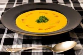 Karotten Ingwer Cremesuppe