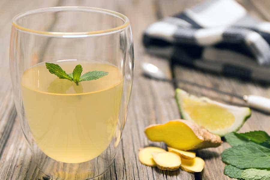 Rezept Ingwer Limette Minz – Sirup