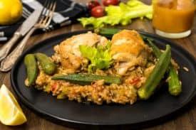 Rezept Hühner Gambo