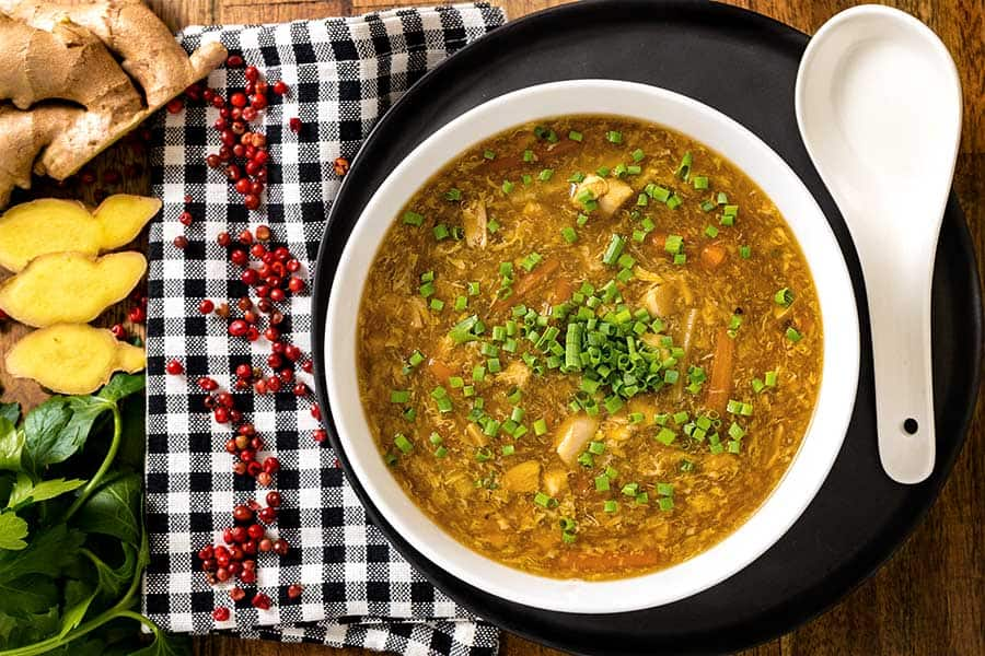 Rezept Pikant – säuerliche Suppe