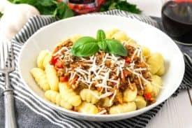 Bolognese ohne Tomaten