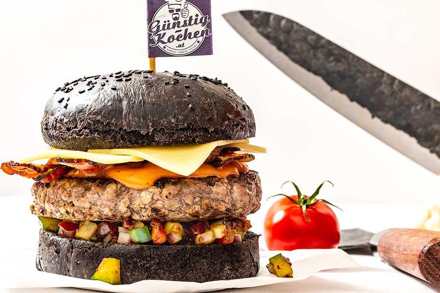 Rezept Knifesmith Superstar Burger