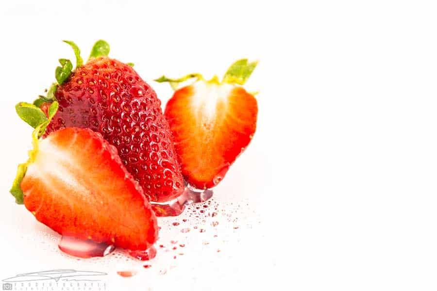 Rezept Leckere Erdbeeren