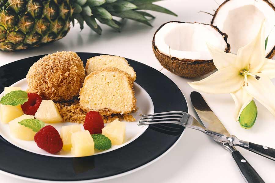 Rezept Topfenknödel mit Kokos