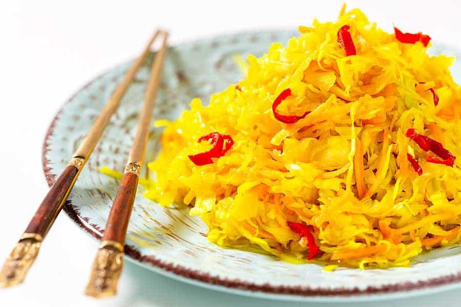 Rezept Pikanter Krautsalat wie beim Chinesen